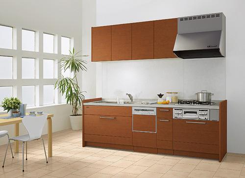 新しいシステムキッチンの写真