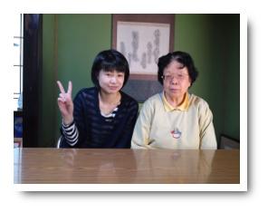 松本市笹部T様と松本リフォーム社店長の写真