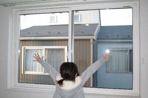 内窓の取付けが完成!ぽかぽか暖かい冬をお過ごしください!